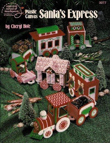 9780881953046: Plastic Canvas Santa's Express (American School of Needlework, 3077)