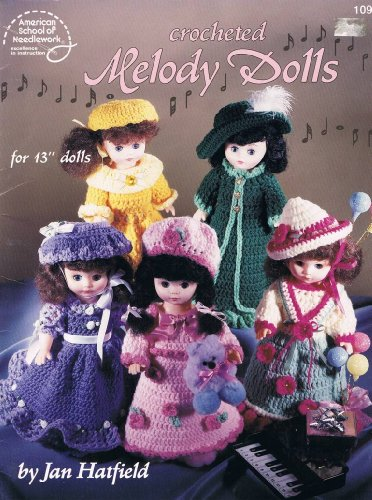 Crocheted Melody Dolls: Hatfield, Jan