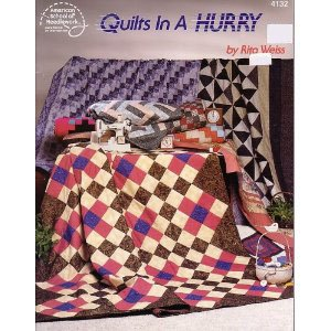 Quilts in a hurry: Rita Weiss
