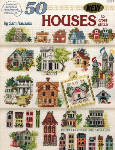 9780881954340: 50 Houses to Cross Stitch