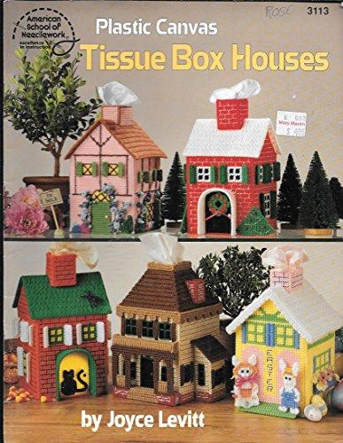 9780881954371: Plastic Canvas Tissue Box Houses