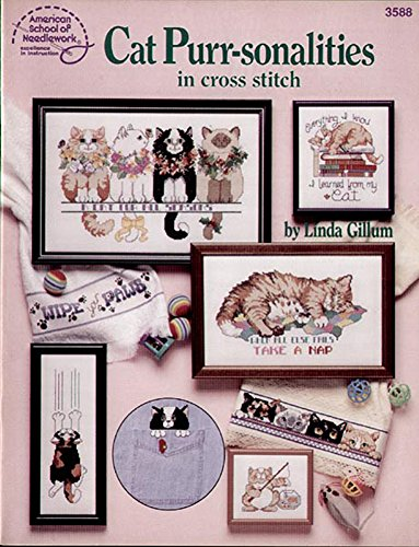 9780881954654: Cat Purr-sonalities in Cross Stitch