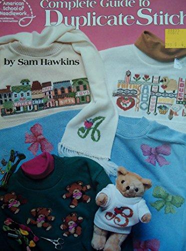 Complete guide to duplicate stitch: Hawkins, Sam