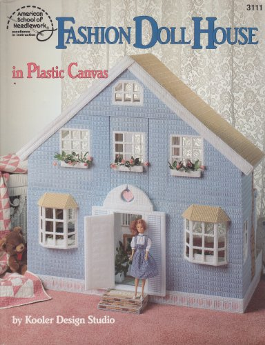 9780881954678: Fashion Doll House in Plastic Canvas