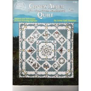 9780881954791: Conway Album Quilt (I'm Not From Baltimore)