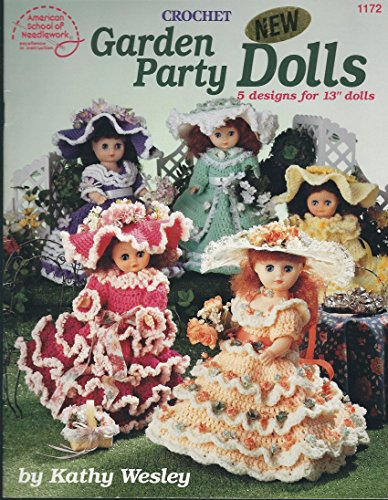 9780881955552: Garden Party Dolls: 5 crochet designs for 13