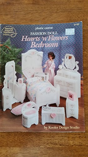Plastic Canvas Fashion Doll Hearts 'n' Flowers Bedroom (American School of Needlework ...