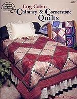 9780881956887: Log Cabin Chimney & Cornerstone Quilts
