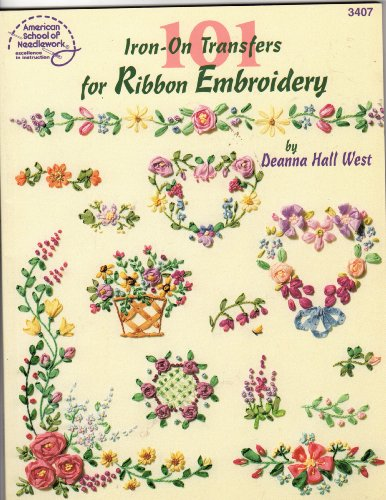 9780881957235: 101 Iron-On Transfers for Ribbon Embroidery