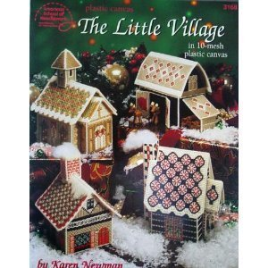 9780881957495: Plastic Canvas Little Village: In 10-mesh Plastic Canvas
