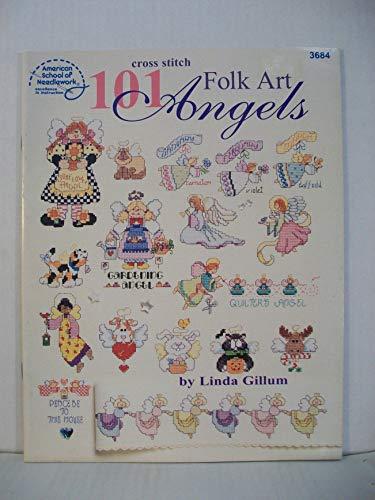 9780881957815: 101 Folk Art Angels