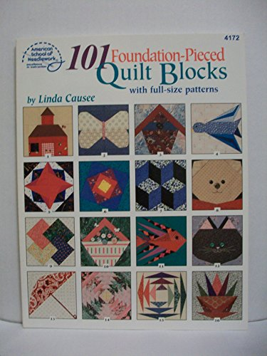 9780881957877: 101 Foundation Pieced Quilted Block