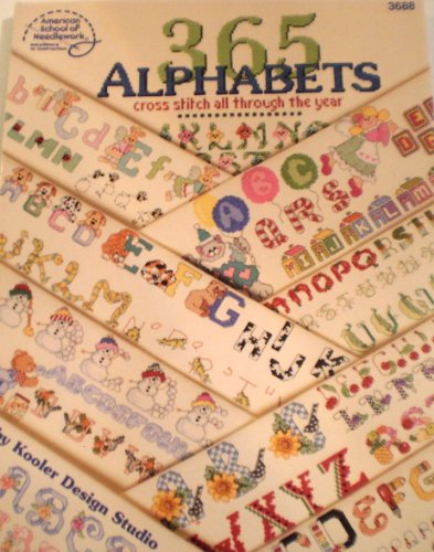 9780881958058: 365 Alphabets: Cross Stitch All Through the Year