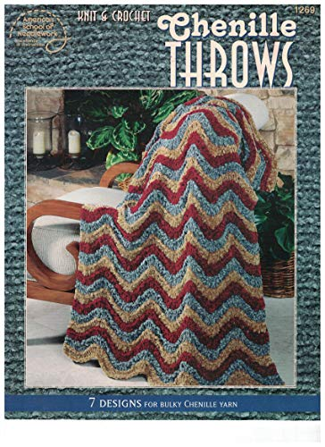 9780881958690: Knit & Crochet Chenille Throws - 7 Designs for Bulky Chenille Yarn