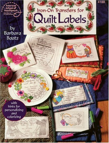 9780881959031: Iron-On Transfers for Quilt Labels