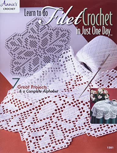 9780881959147: Learn To Do Filet Crochet In Just One Day - #1281