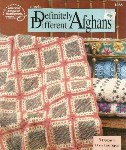 9780881959260: Definitely Different Afghans: 5 Designs (Crochet) (American School of Needlework #1288)