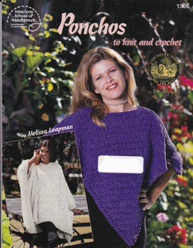 9780881959628: Ponchos to Knit and Crochet