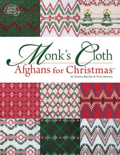 9780881959680: Monk's Cloth Afghans for Christmas