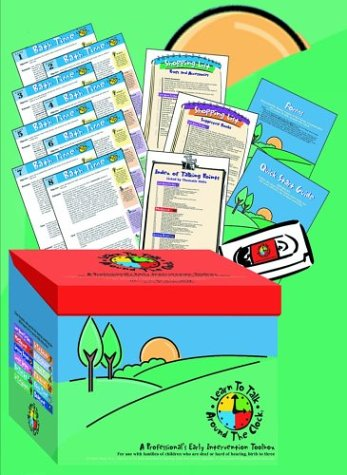 Learn to Talk Around the Clock: A Professional s Early Intervention Toolbox (Mixed media product): ...
