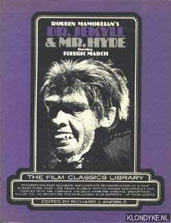 "Dr. Jekyll and Mr.Hyde"" (Film Classics Library): Anobile, Richard J."
