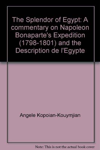 The Splendor of Egypt: A Commentary on: Kopoian-Kouymjian, Angele;Kouymjian, Dickran