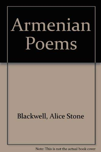 9780882060224: Armenian Poems: Rendered into English Verse