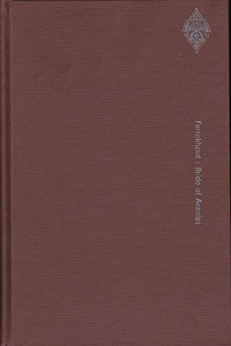 9780882060507: Bride of Acacias: Selected Poems of Forugh Farrokhzad (Modern Persian literature series)
