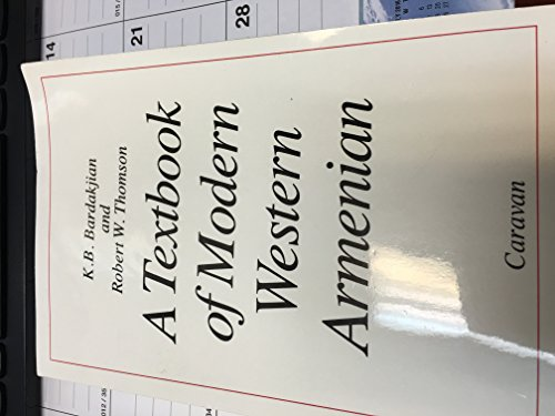 9780882065045: A Textbook of Modern Western Armenian