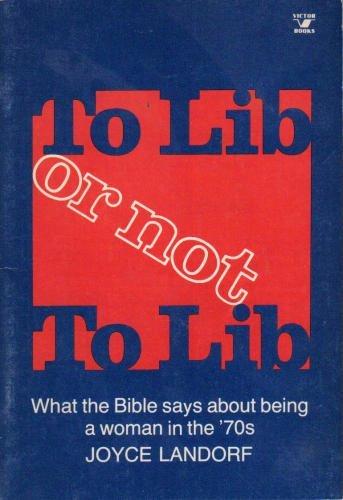 To Lib or Not to Lib: Landorf, Joyce