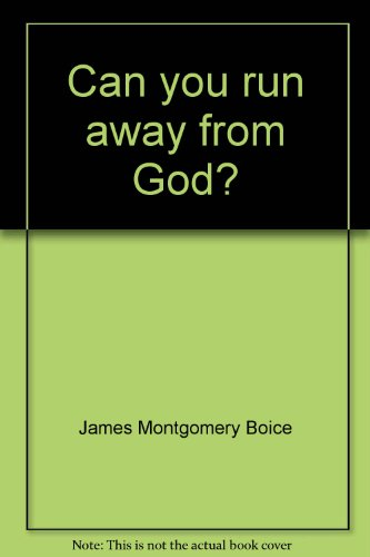 9780882075013: Can you run away from God?