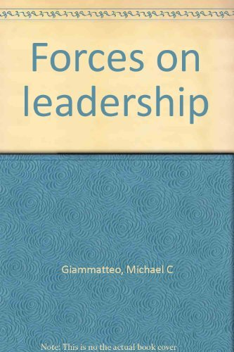 9780882101163: Forces on leadership