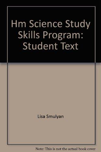 Hm Science Study Skills Program: Student Text