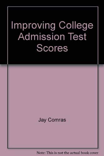 Improving college admission tests scores: ACT English: Jay Comras