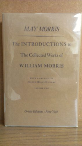 9780882110462: Introduction to the Collected Works of William Morris