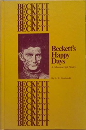9780882150413: Beckett's Happy days: A manuscript study