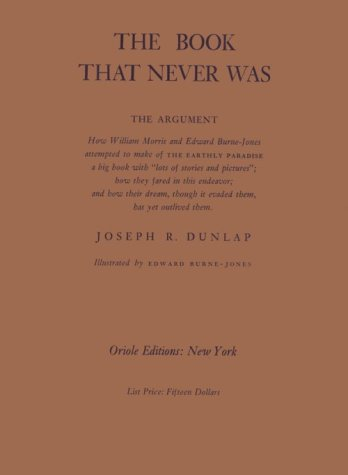 9780882156972: The Book That Never Was