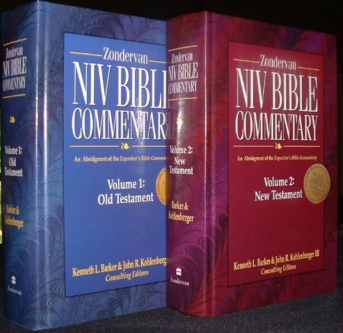 9780882231204: Zondervan NIV Bible Commentary Volume 1 Old Testament & Volume 2 New Testament