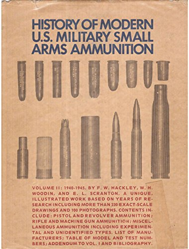 9780882270074: History of modern U.S. military small arms ammunition