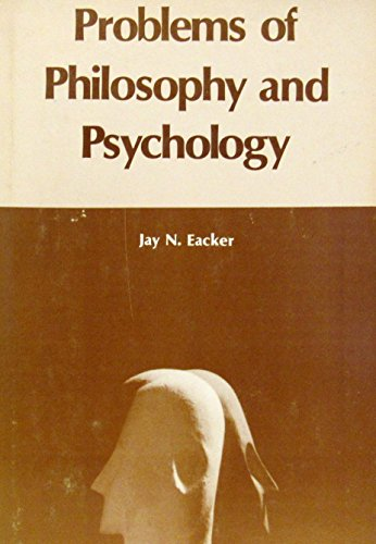 9780882292021: Problems of Philosophy and Psychology
