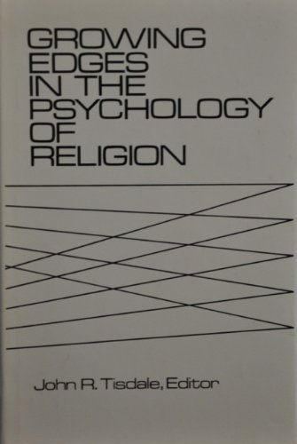 9780882293387: Growing Edges in the Psychology of Religion