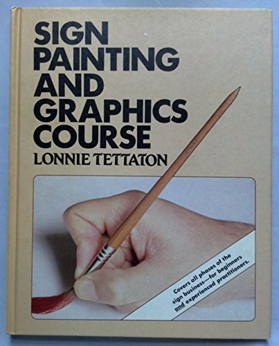 Sign painting and graphics course: Lonnie Tettaton