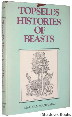 9780882296425: Topsell's Histories of Beasts