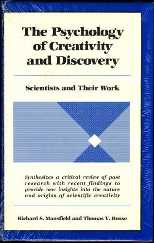9780882296531: The Psychology of Creativity and Discovery: Scientists and Their Work