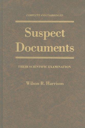 Suspect Documents: Harrison, Wilson R.