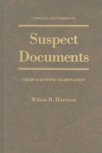 9780882297590: Suspect Documents: Their Scientific Examination