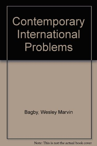 9780882297743: Contemporary International Problems