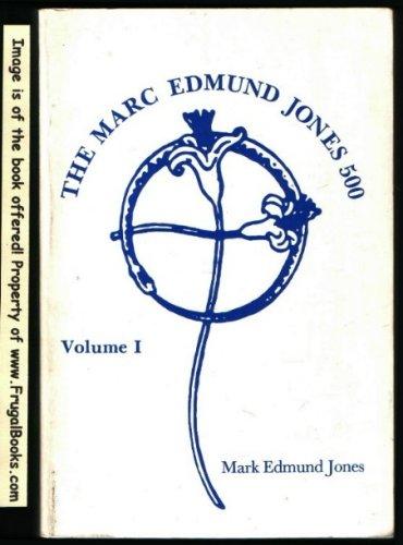 Marc Edmund Jones 500 Vol 1 001: Jones, M.E.