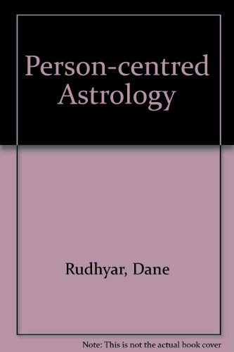 9780882311111: Person-centred Astrology