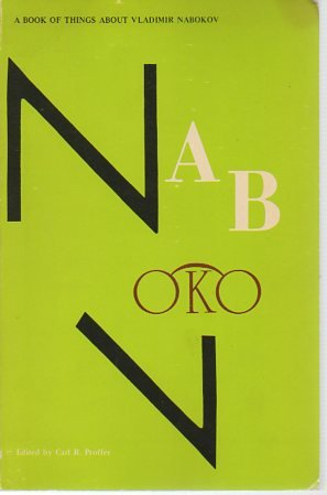 A Book of Things About Vladimir Nabokov: Proffer, Carl R